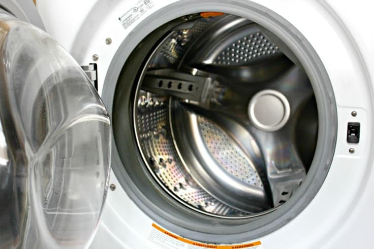 water in washing machine drum when not in use