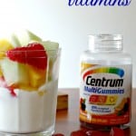 Are you getting all your vitamins from food? #CentrumVitamins