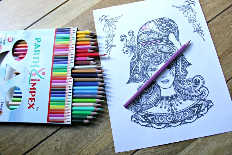 Halloween Coloring Pages For Adults To Print And Color