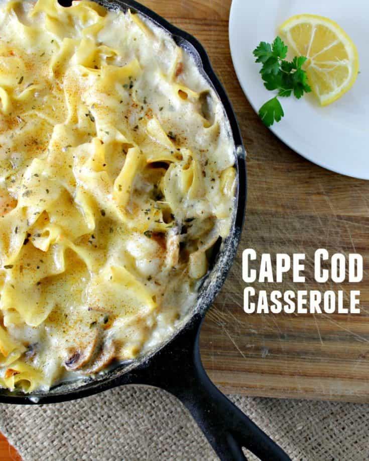 Cape Cod Seafood Casserole Recipe