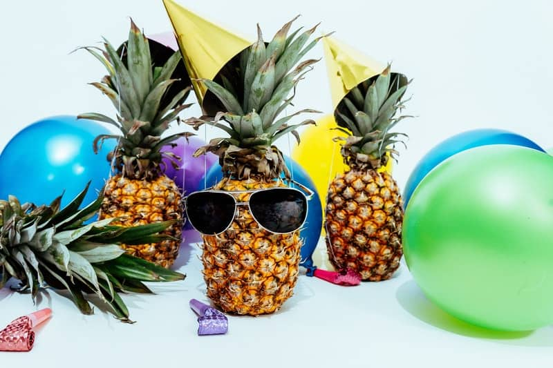 These tropical party ideas will work for any type of party whether it's a summer get together or a tropical themed birthday, graduation or anniversary.
