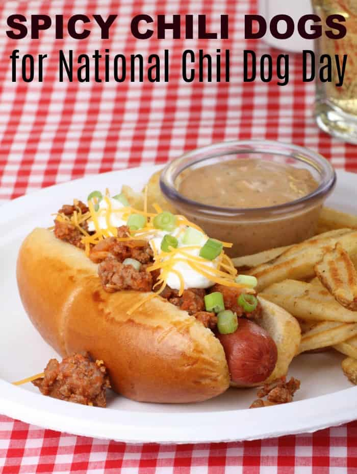Family Tailgating for National Chili Dog Day