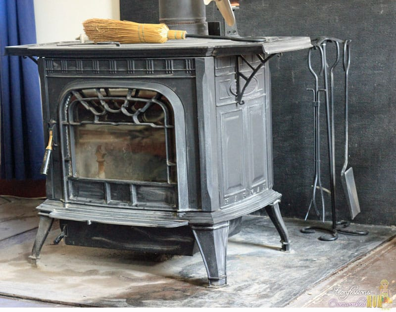 How to clean a woodstove
