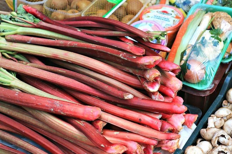 Easy Rhubarb Recipe - Rhubarb Blueberry Sauce
