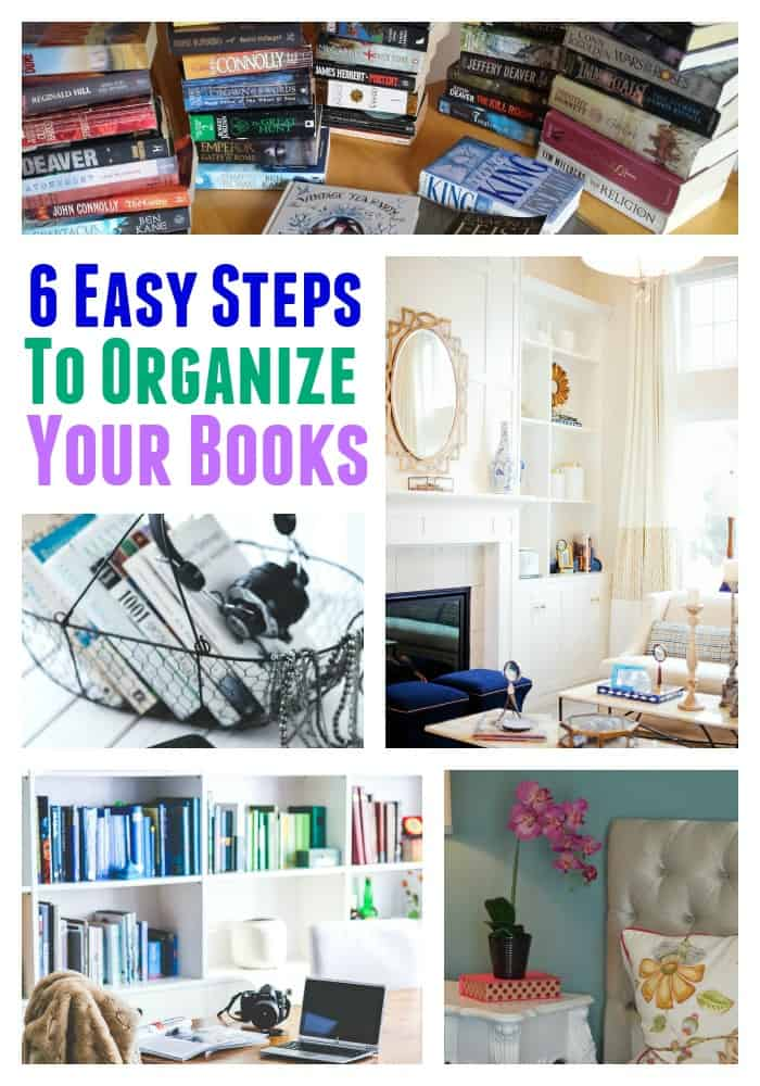 How to organize your books in 6 easy steps