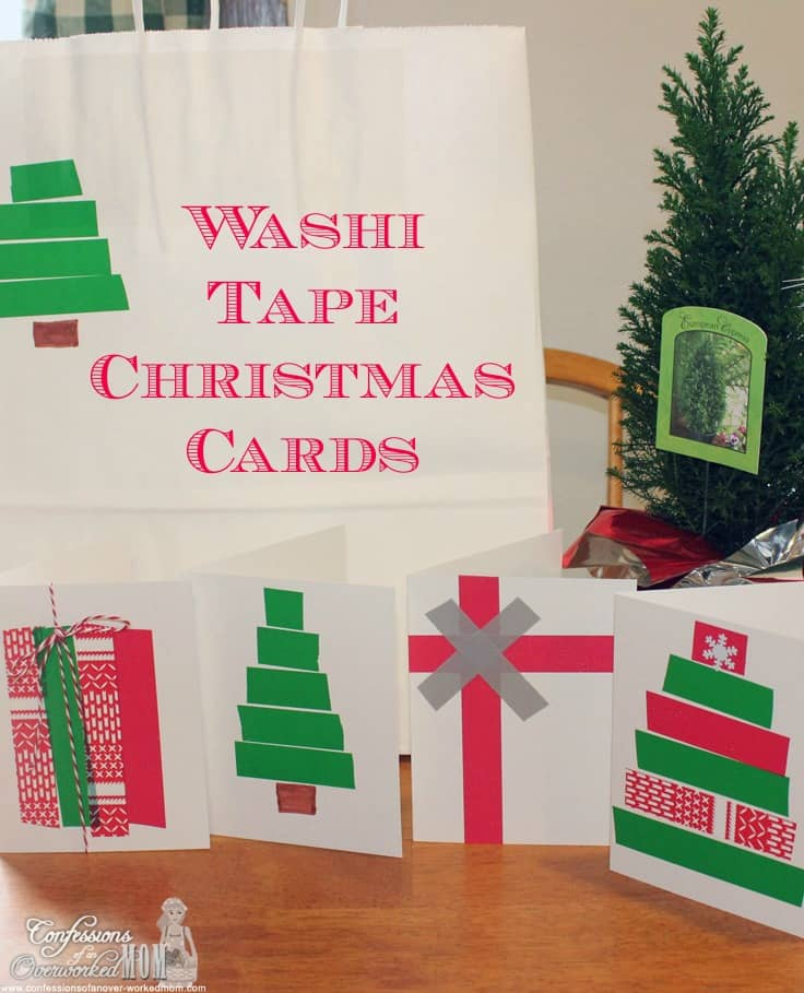 Nice Paper Craft Christmas Card Ideas Part - 2: Confessions Of An Overworked Mom