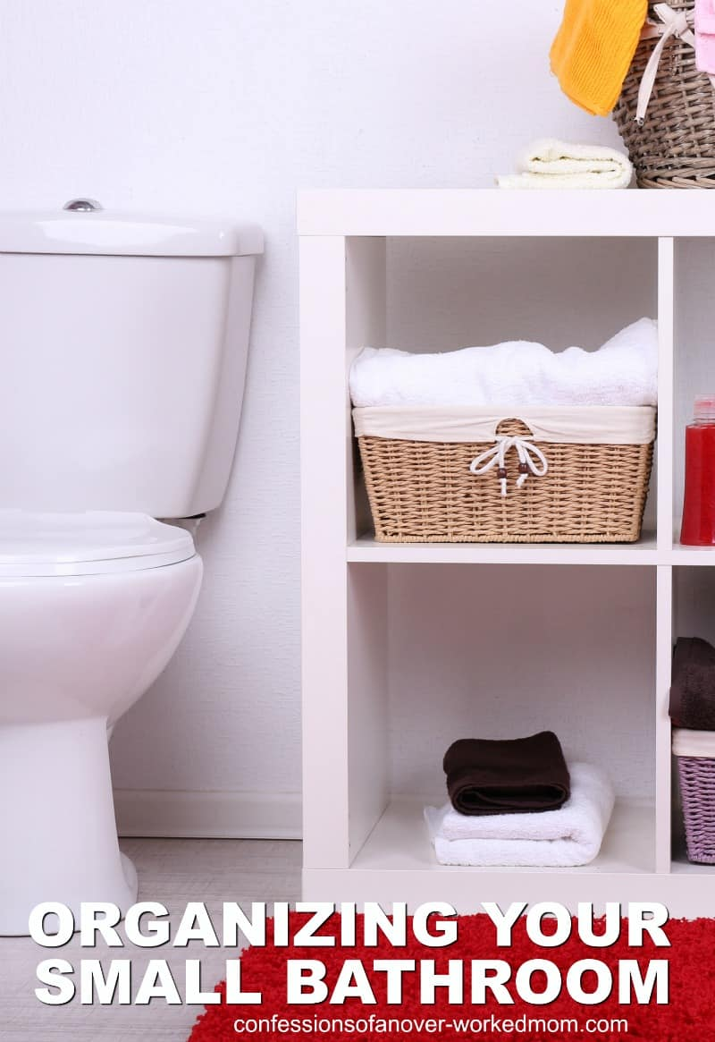 If you live in a small home as we do, these bathroom organization ideas will help you keep your space clutter free.
