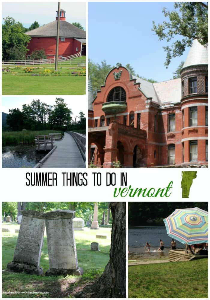 Summer things to do in Vermont