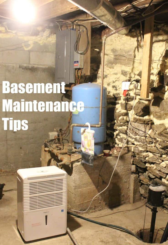 Basement maintenance tips