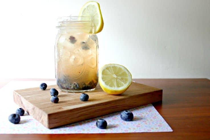 Blueberry Apple Cider Vinegar Drink Recipe