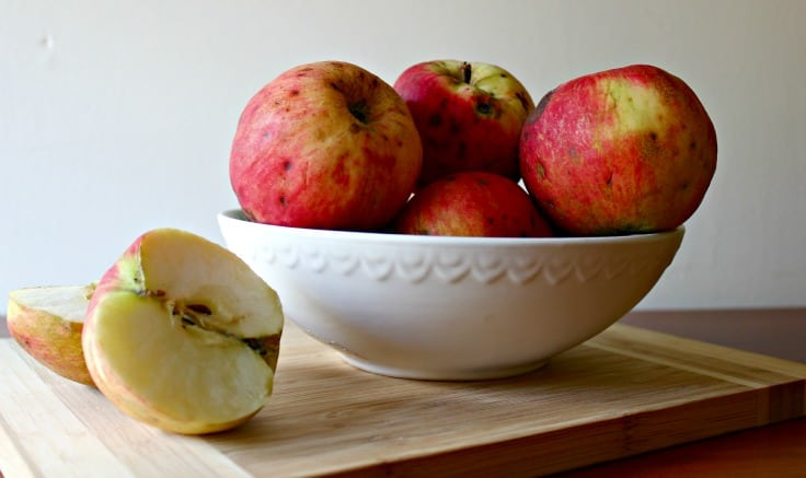 Baking with Wild Apples