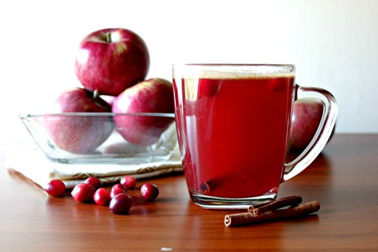 Easy Hot Spiced Cranberry Cider Recipe