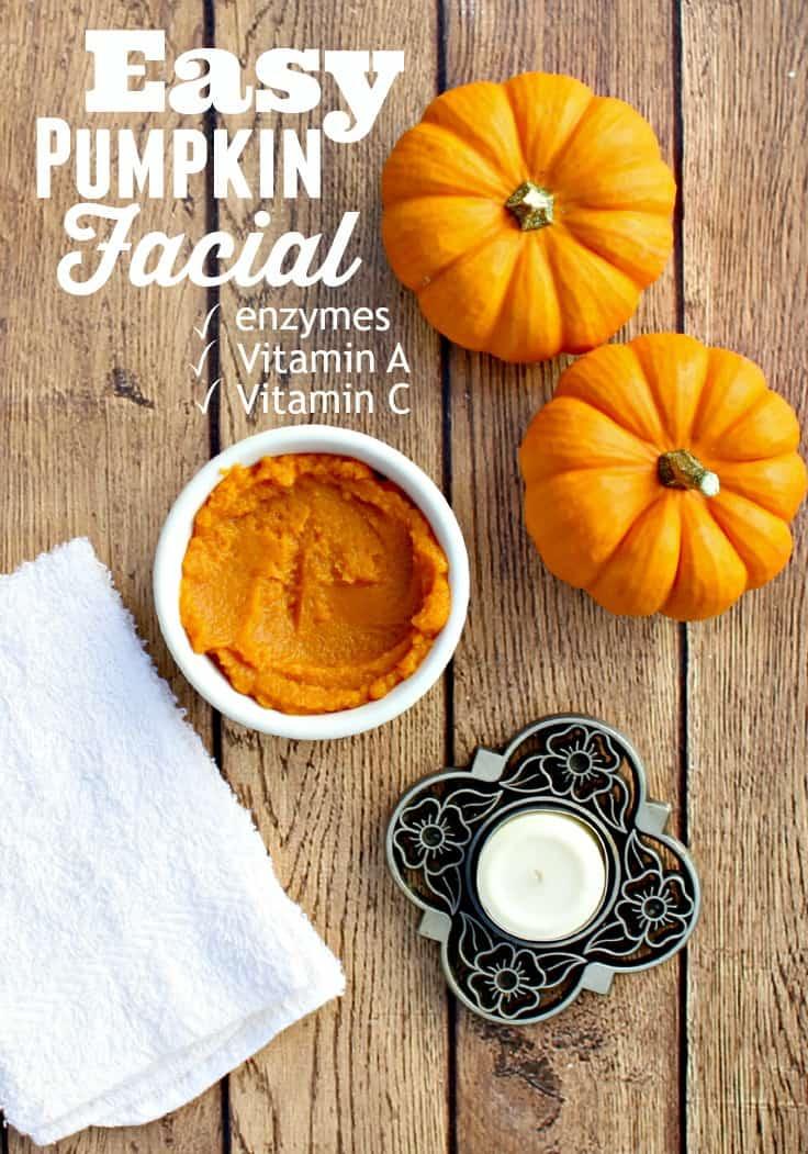 Pumpkin Facial Masks 60