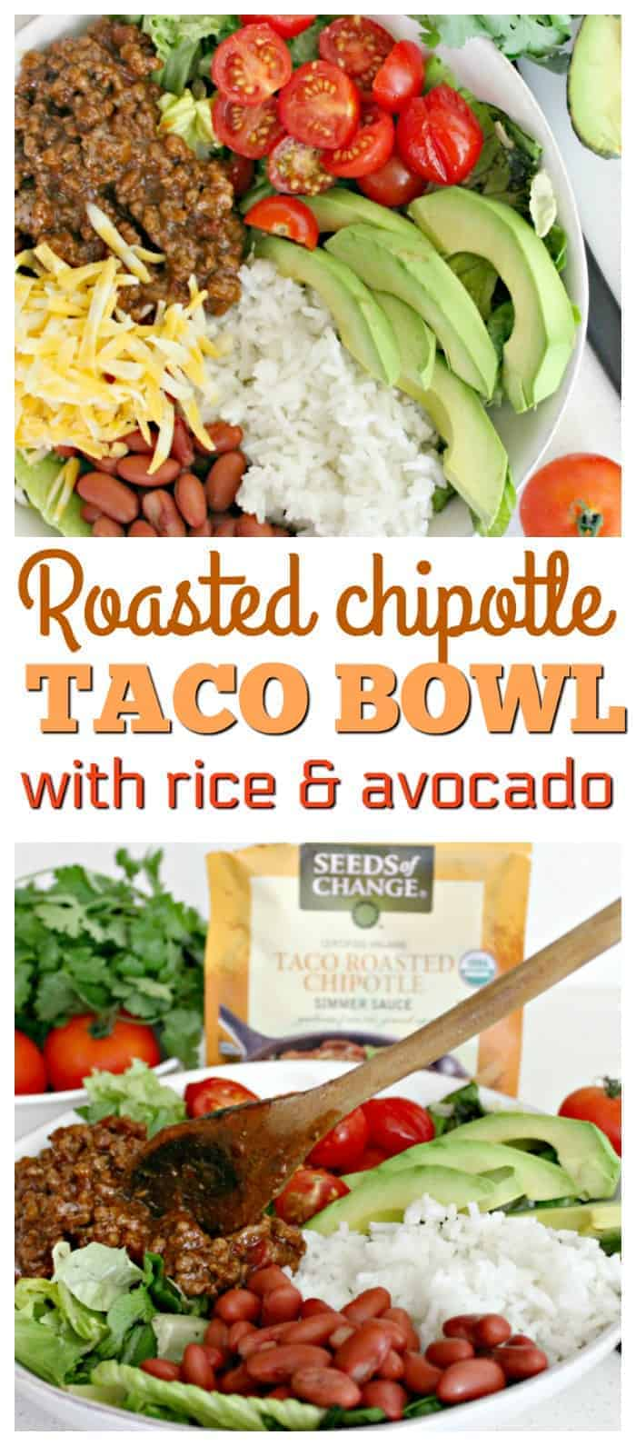 Gluten Free Chipotle Taco Bowl with Rice Recipe