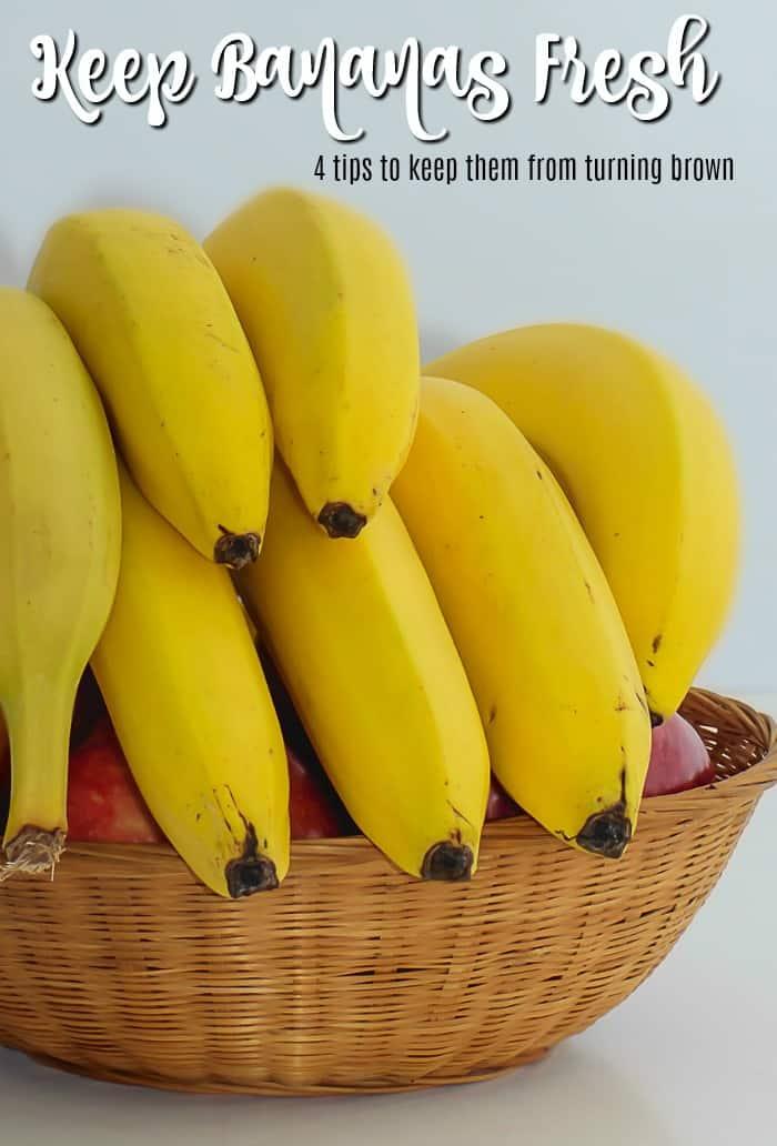 4 Easy Ways to Make Bananas Last Longer and Stay Fresh