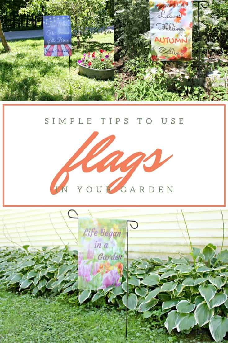 Seasonal Garden Flags and How to Use Them in Your Garden #gardeningtips #gardens #gardening #gardenflags