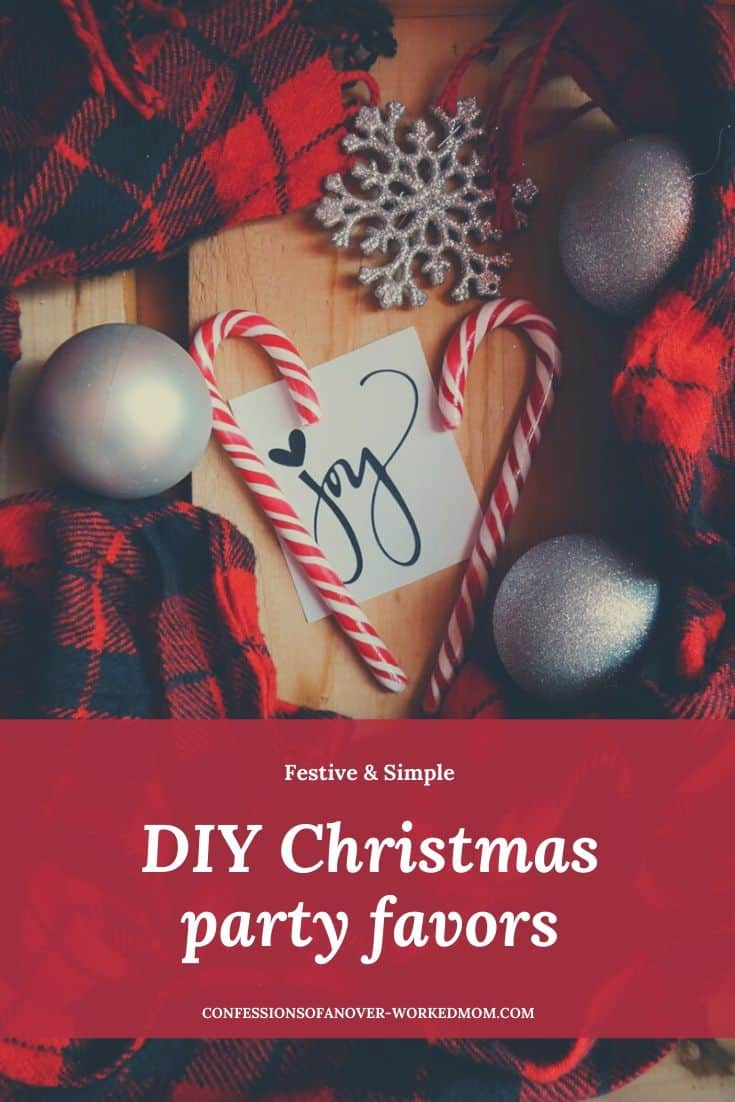 Christmas Party Favors to Make for your Holiday Party #Christmas #Christmasparty #Christmascrafts