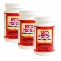Mod Podge Waterbase Sealer, Glue and Finish (8-Ounce), CS11201 Gloss Finish (3 Pack)