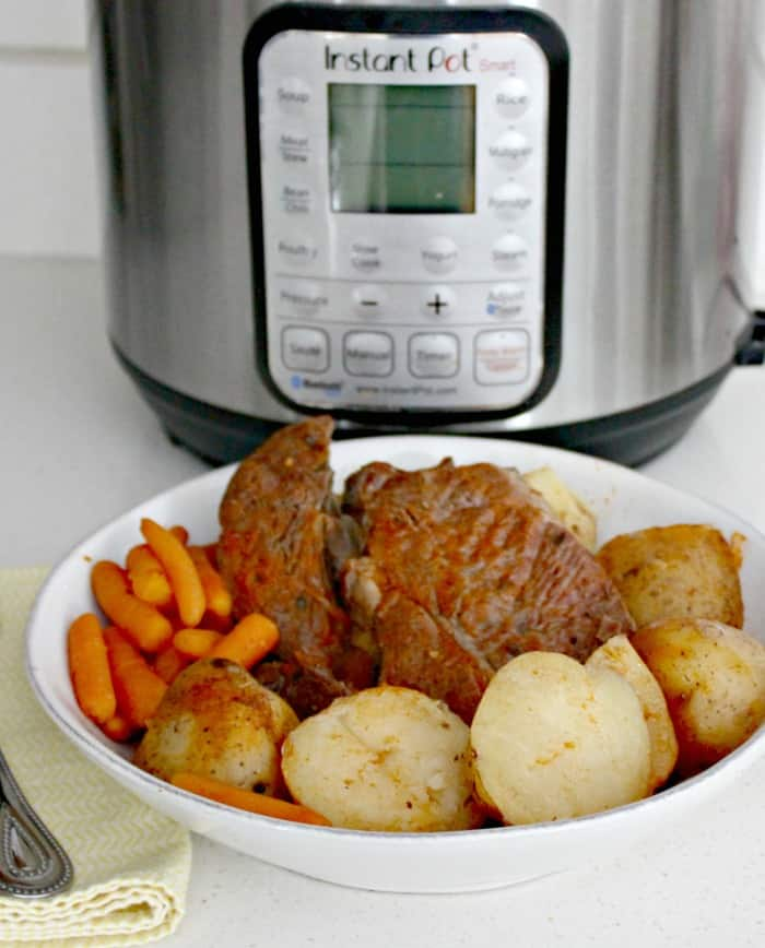 Instant Pot Italian Beef Dinner in Less Than an Hour