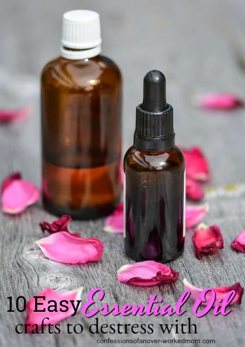 Essential Oil Crafts to Destress With and Give as Gifts